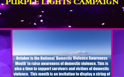 'Purple Light Nights' Campaign 2020